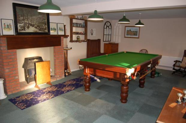 Snooker Room