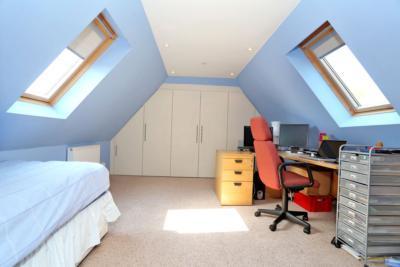 second floor bed