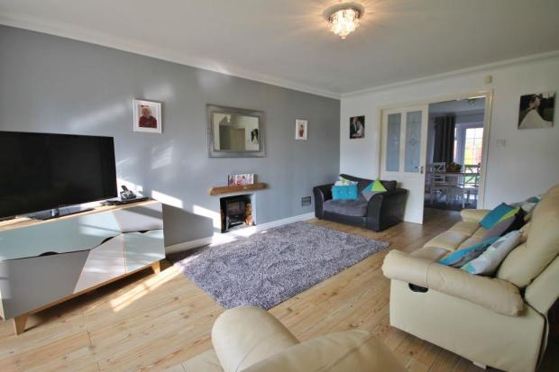 4 bedroom detached house for sale in guernsey road widnes for Living room guernsey