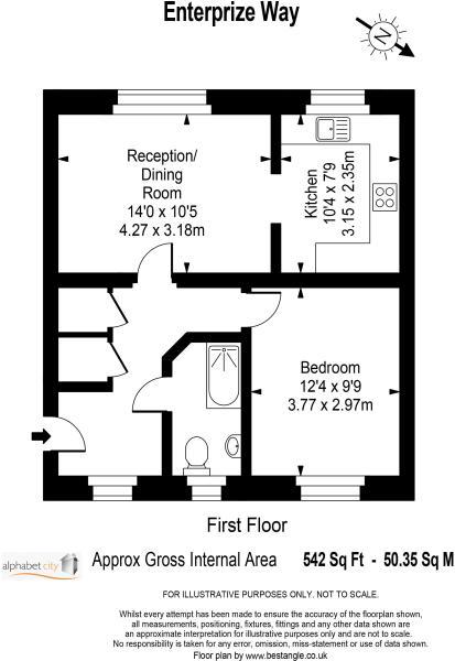 Floor plan Ent...