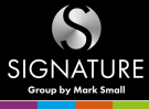 Signature By Mark Small, Tynemouth logo