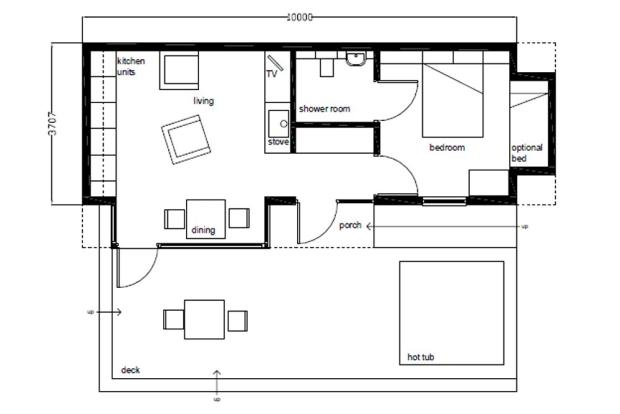 1 Bed Typical Layout