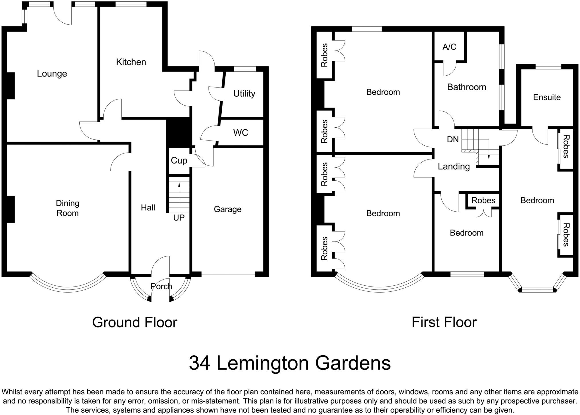 4 bedroom semi-detached house for sale in lemington gardens