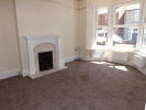 Living Room with bay window and gas fire