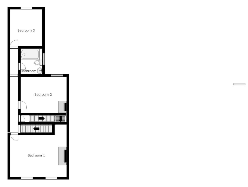 Floorplan Second Floor