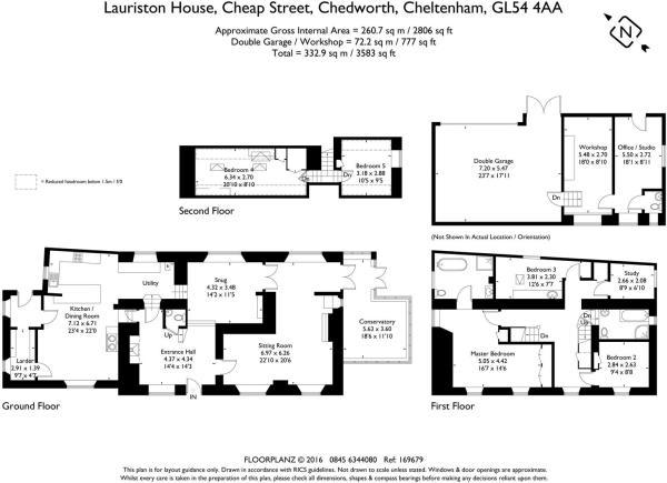 Lauriston House 1696