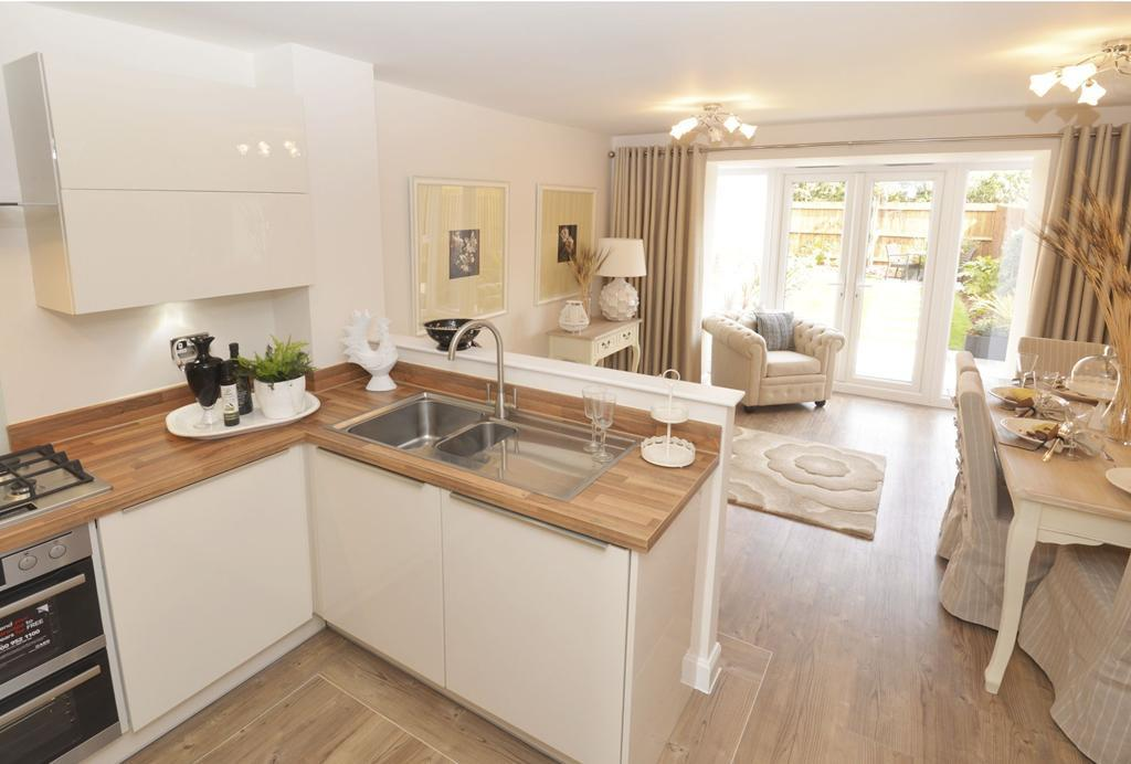 Four bedroom Rochester Show Home
