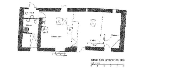 Stone Barn - Ground