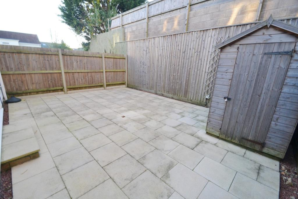 Rear Patio