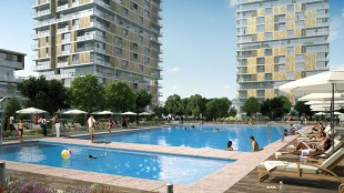 1 bed new Apartment in Istanbul, Bahcelievler