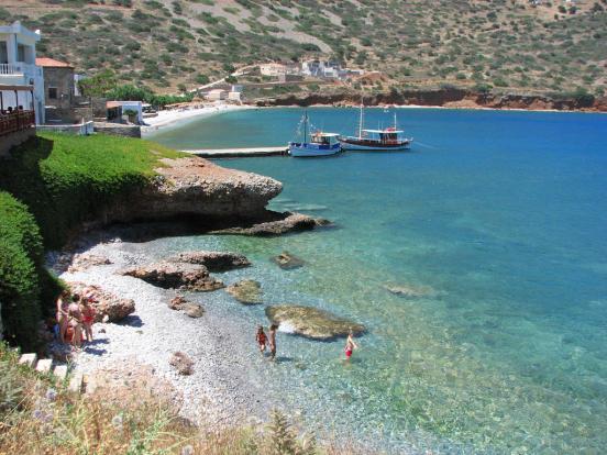 Beaches in Plaka