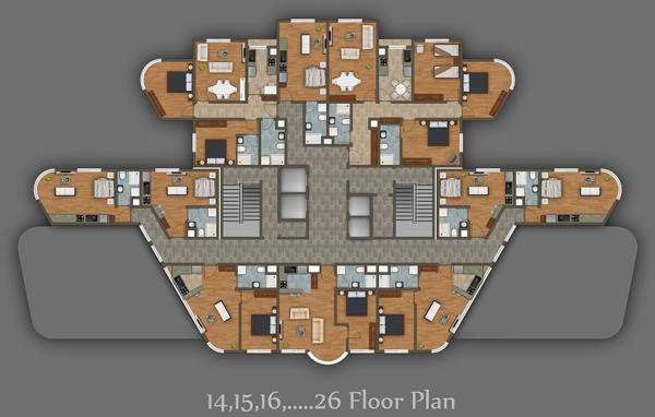 27-34 Floor
