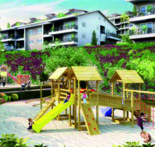 3 bed new Apartment in Aydin, Didim, Akbuk