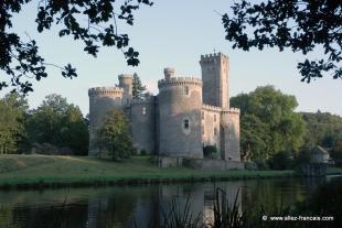 Castle in Chalus, Haute-Vienne...
