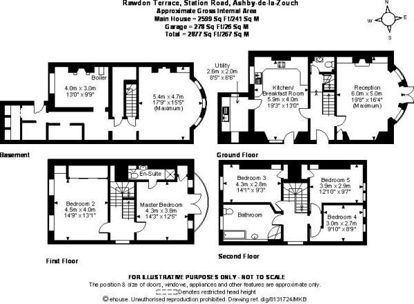 5 Bedroom House For Sale In Rawdon Terrace Ashby De La