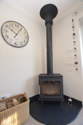 Image of wood burner