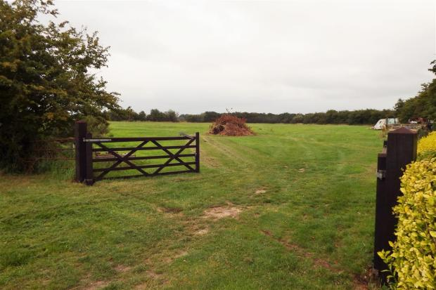entrance to field at
