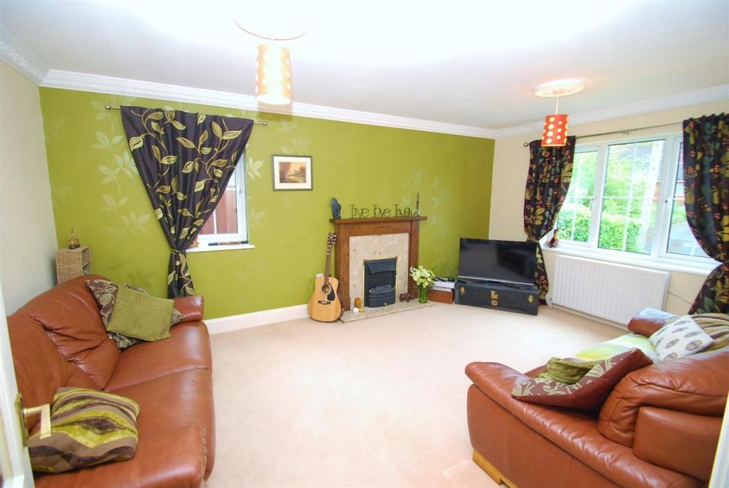 angled lounge view
