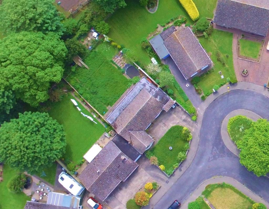 aerial view from