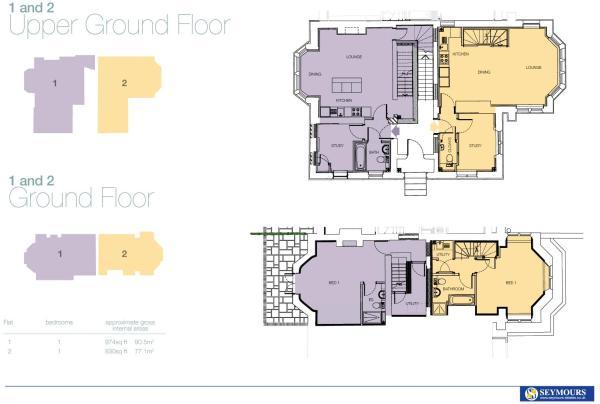 Floor Plans 1 -2