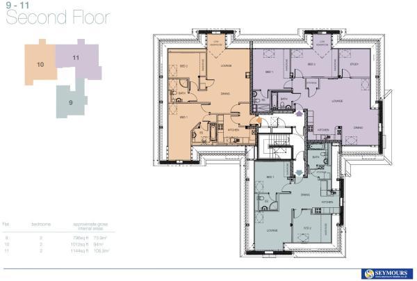 Floor Plan 9 -11