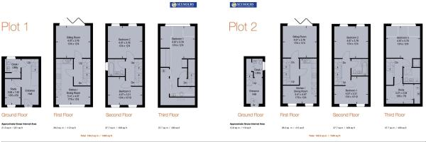 Floorplan 1 and 2