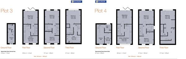 Floorplan 3 and 4