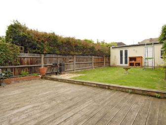 photo of garden and decking