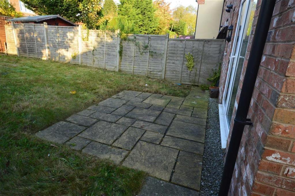 Rear & side garden