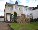 semi detached home for sale in Bassetts Way Orpington...