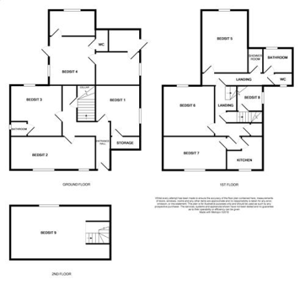 Floorplan for 7 Clar