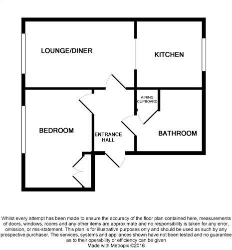 Floorplan for 65 Bar