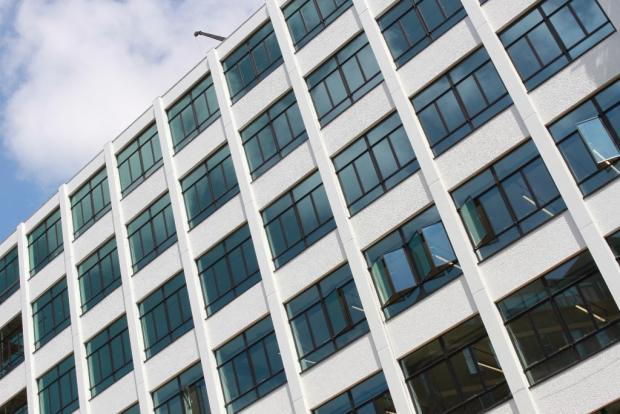 New facade / glazing