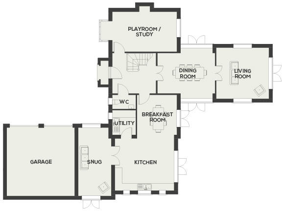 Ground Floor Dimensions