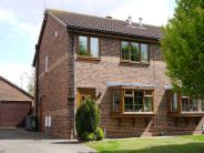 semi detached property in Beck Close, Howden