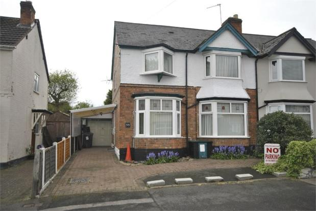 3 bedroom semi detached house for sale in tetley road for Mitchell s fish market birmingham
