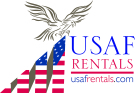 Lawsons Estate Agents, USAF Rentals branch logo