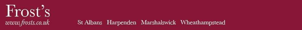 Get brand editions for Frost's Estate Agents, Marshalwick