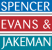 Spencer Evans and Jakeman, Shrewsbury logo