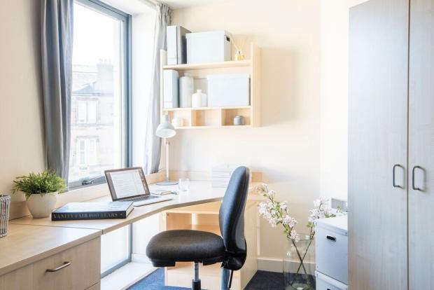 Personal desk areas