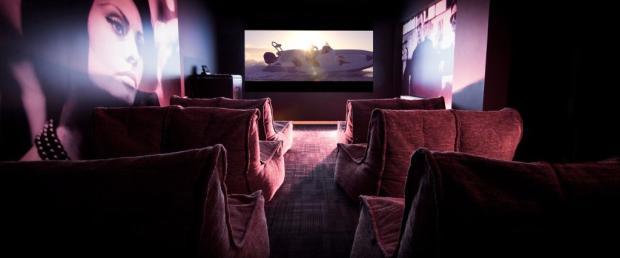On-site cinema room