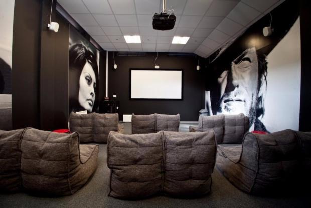 On-site cinema