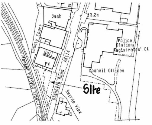 Current Site Plan