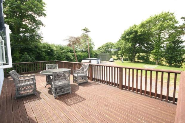 Elevated Deck ...