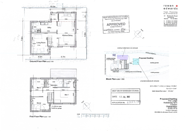 block plan & floors