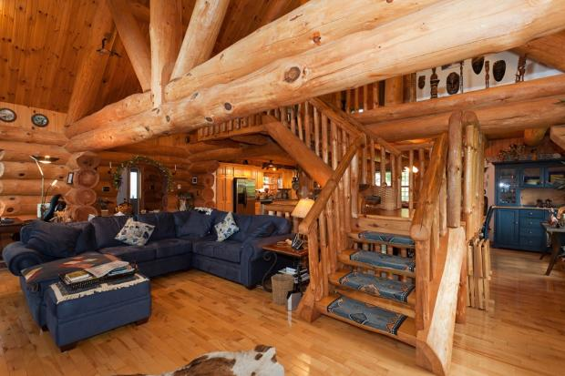 2 bedroom log cabin for sale in nova scotia lower for 2 bedroom log cabins for sale