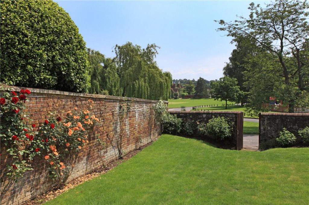 Garden Wall and View