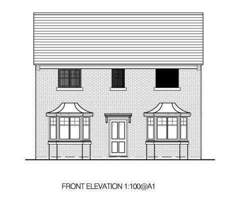 D Front Elevation