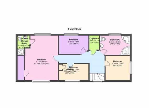 Fircote Coplow Lane, Foston - Floor 1