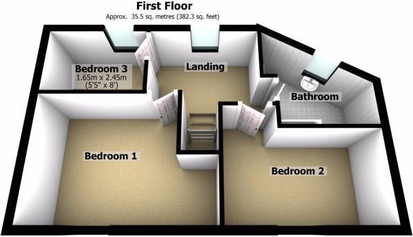 First Floor - 3D